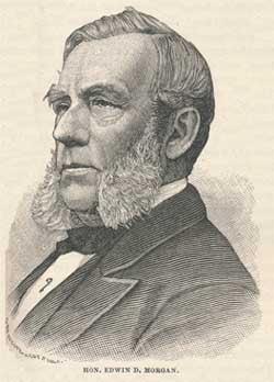 Governor Edwin D. Morgan [1811-1883]