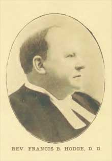 Rev. Francis Blanchard Hodge [1838-1905]