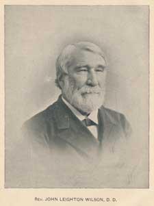 Rev. John Leighton Wilson
