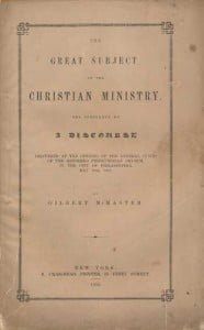 McMaster_1852_Great_Subject_of_the_Christian_Ministry