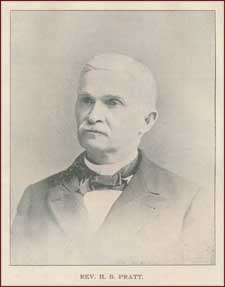 Rev. Henry Barrington Pratt [26 May 1832 – 11 December 1912]