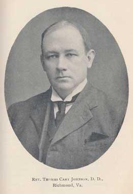 Photograph as found in Calvin Memorial Addresses. Richmond, VA: Presbyterian Committee of Publication, 1909.